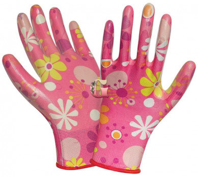 Перчатки Нейлоновые Цветок