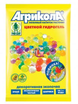 Гидрогель Агрикола Шарики Голубые (50 шт.)